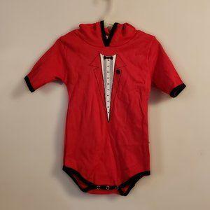 ⭐Hooded devil suit costume 18-24 month onesie